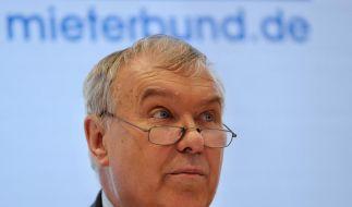 Mieterbundschef: Wohnen wird auch 2012 teurer (Foto)