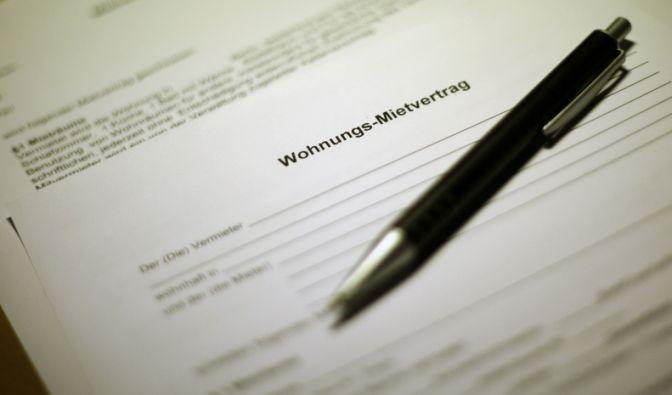 Mietvertrag für Untermieter (Foto)