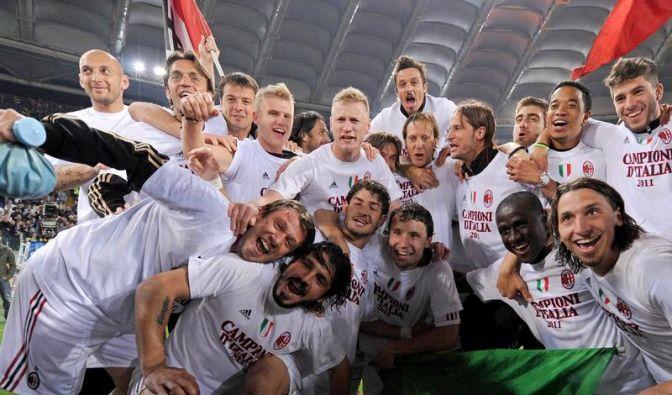 Milan feiert 18. Meistertitel und Inters Sturz (Foto)