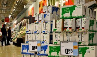 Milch ist wieder teurer (Foto)