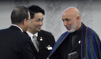Milliardenhilfe für Afghanistan an Bedingungen geknüpft (Foto)