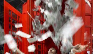 Millionärsmesse Moskau (Foto)