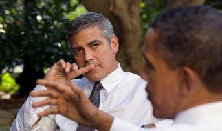 Millionen-Dinner mit Obama bei Clooney (Foto)