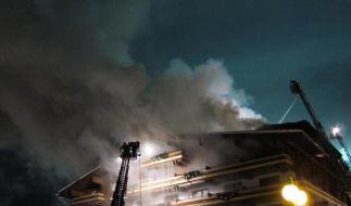 Millionenschaden bei Großbrand in Wintersporthotel (Foto)
