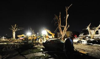 Mindestens 24 Tote nach Tornado in USA (Foto)
