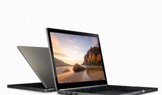 Mindestens 1000 Euro teuer und ohne Internetverbindung geht gar nichts: Googles neue Chromebook-Reihe. (Foto)