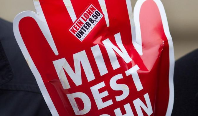Mindestlohn-Konzept: Union hofft, FDP mauert (Foto)