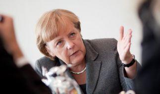 Mindestlohn: Merkel für regionale Lösung (Foto)