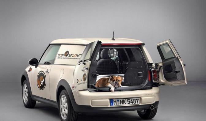 Mini-Lieferwagen Clubvan geht im Herbst in Serie (Foto)