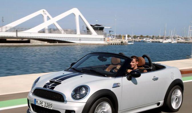 Mini Nummer sechs: Roadster-Variante startet im Frühjahr (Foto)