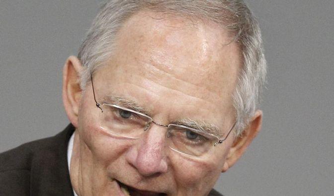 Ministerium: Schäuble (Foto)