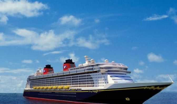 Minni Maus an Bord: «Disney Fantasy» sticht in See (Foto)