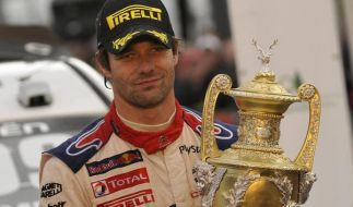 «Mister Rallye»: Sechster WM-Titel für Loeb (Foto)