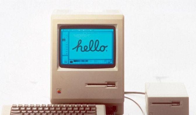 Mit dem Mac wurde der Computer erst «persönlich» (Foto)