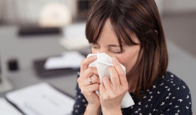 Mit der Kältewelle kommt auch die Erkältungszeit. (Foto)