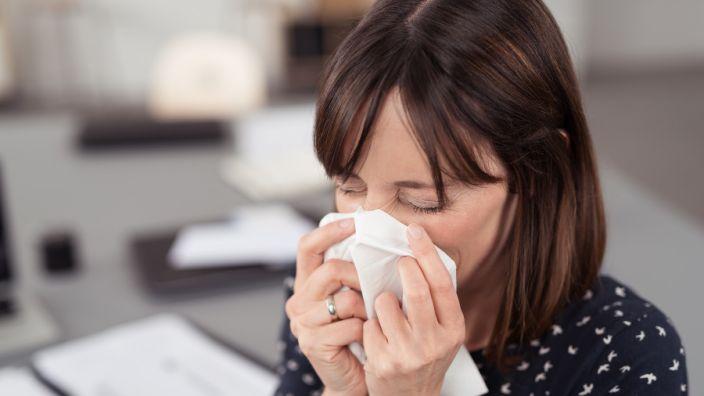 Mit der Kältewelle kommt auch die Erkältungszeit.