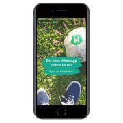 Mit der neuesten Funktion attackiert WhatsApp Snapchat. (Foto)