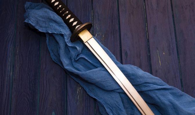 Mit einem Samuraischwert tötete der Mann seinen Cousin. (Foto)
