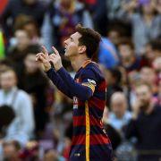 Messis Elfmeter-Trick überrascht sogar eigene Mitspieler (Foto)