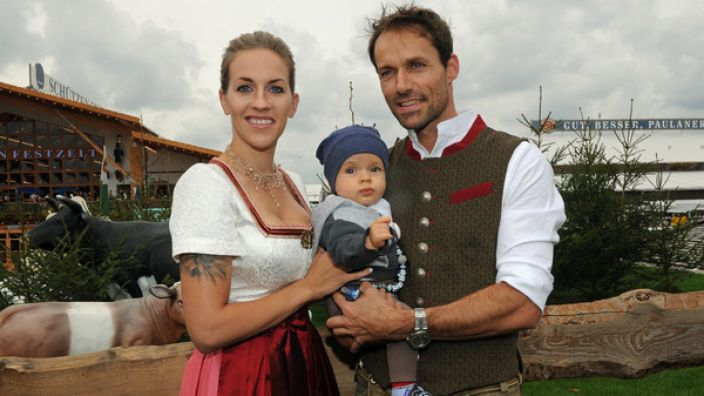 Mit der Fußballerin Melissa Thiem hat Hannawald einen gemeinsamen Sohn. (Foto)