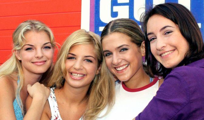 Mit blonden Haaren und als schüchterner Teenie begann die Karriere von Yvonne Catterfeld als Schülerin Julia Blum. (Foto)