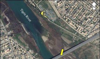 Mit Hilfe von Google Earth entdeckte ein Blogger ein Trainingslager der IS-Terroristen. (Foto)