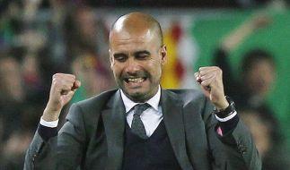 Mit Josep Guardiola kommt einer der besten Trainer in die Bundesliga. (Foto)