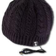 Mit integriertem Kopfhörer wird diese Mütze zum winterlichen Dauerbegleiter.