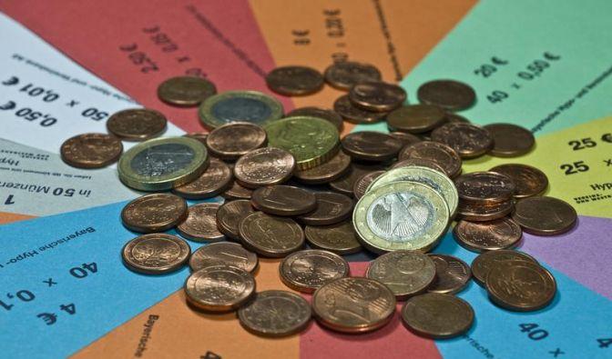 Mit Münzen kein unbegrenzter Einkauf möglich (Foto)