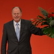 Mit 93,45 Prozent zum Kanzlerkandidaten der SPD gewählt: Peer Steinbrück.