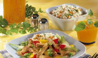 Mit Saft kochen und speisen (Foto)