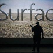 Mit Surface bringt Microsoft erstmals einen Tablet-PC heraus.