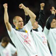 Mit dem Tor von Arjen Robben löste der FC Bayern endgültig das Finalticket.