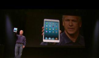 Mit 7,9 Zoll Bildschirmdiagonale ist das iPad Mini das erste kleine Tablet von Apple. (Foto)