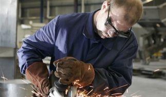 Mitarbeiter im Metallgewerbe (Foto)