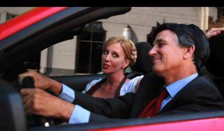 Mitt Romney gibt in der Video-Parodie einen Steuerflüchtling. (Foto)