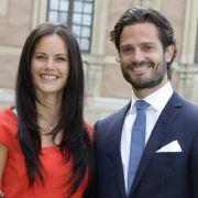 Mittlerweile seit Juni 2015 glücklich verheiratet: Sofia und Carl Philip von Schweden. (Foto)
