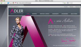 Modekette Adler strebt an die Börse (Foto)