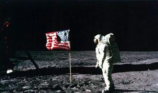 Mond-Besucher (Foto)