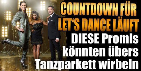 Let's Dance 2017 mit Stars bei RTL