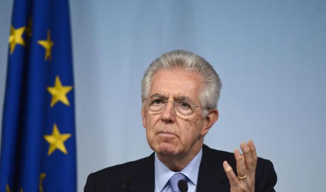 Monti warnt vor Zerstörung Europas (Foto)