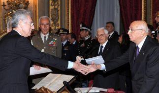 Montis Fachleute-Kabinett vereidigt (Foto)