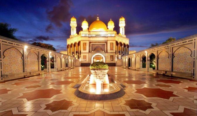 Moschee in Brunei (Foto)