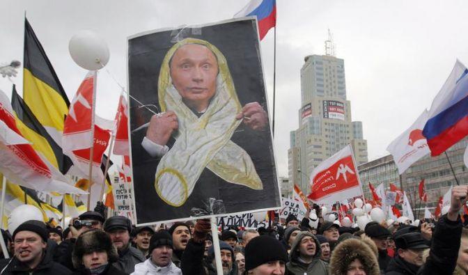 Moskau erlaubt Demo von Regierungskritikern (Foto)