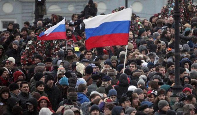 Moskau: Massenproteste gegen Wahlfälschung (Foto)
