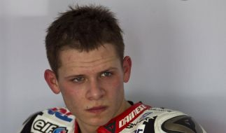 Motorrad-Pilot Bradl in Le Mans gestürzt (Foto)