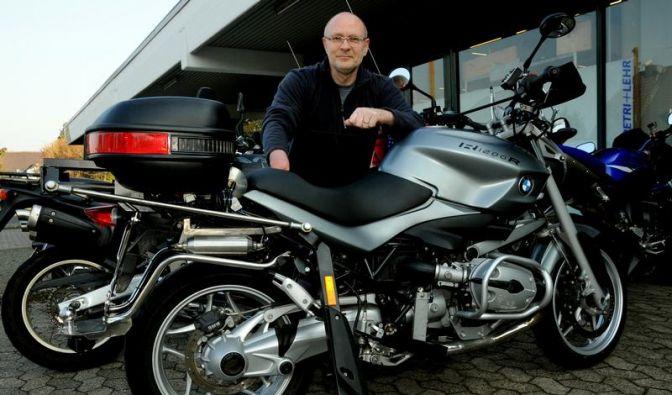 Motorrad-Tuning für Behinderte: Deutschlands Spezialist (Foto)