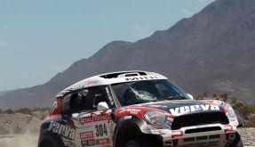 Motorrad-Unfälle bei Dakar - Führungswechsel (Foto)
