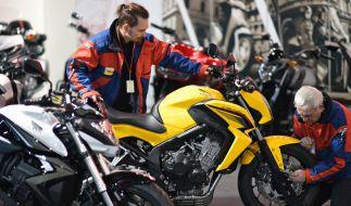 Motorradmesse Leipzig 2015: Mit mehr als 300 Ausstellern verzeichnet die Messe in diesem Jahr einen neuen Rekord. (Foto)