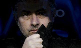 Mourinho gegen Schiedsrichter und Real-Bosse (Foto)